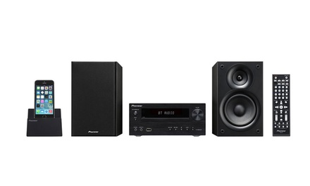 $249.95 for Pioneer X HM32V Micro Hi Fi DVD CD Player Speaker System with Bluetooth