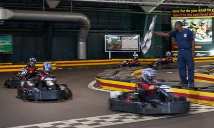 Kart Race and One-Day License at X1 Boston or X1 Outdoors (Up to 50% Off)