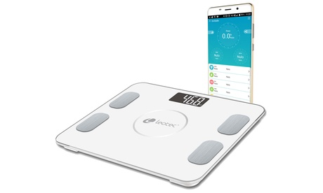 Báscula de baño Bluetooth Leotec Smart Fitness
