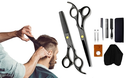11-Piece Hair Cutting Scissors: One Set ($35) or Two Sets ($59)