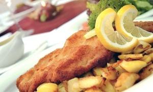 Restaurant Parkblick: Schnitzel nach Wahl für zwei, vier oder sechs Personen im Restaurant Parkblick (bis zu 48% sparen*)