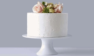 """The Cake House: Choice of 10"""" Single Base Cake with Bespoke Decoration from The Cake House (Up to 71% Off)"""