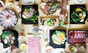 J's Mini Hotpot Deluxe: Asian-Fusion Hot Pots for Two or Four at J's Mini Hotpot Deluxe Chamblee Location (40% Off)