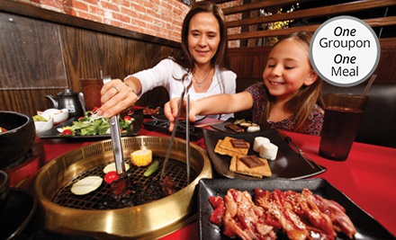 $20 for $40 Worth of Japanese Barbecue at Gyu-Kaku