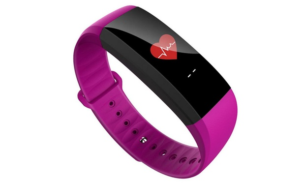Colour Touch Screen Activity Tracker with Heart Rate and Blood Pressure: One ($39.95) or Two ($74.95)