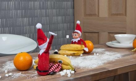 1, 2 o 4 elfos navideños trviesos