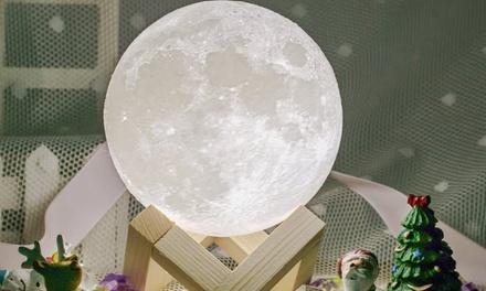 Lampada LED a forma di luna