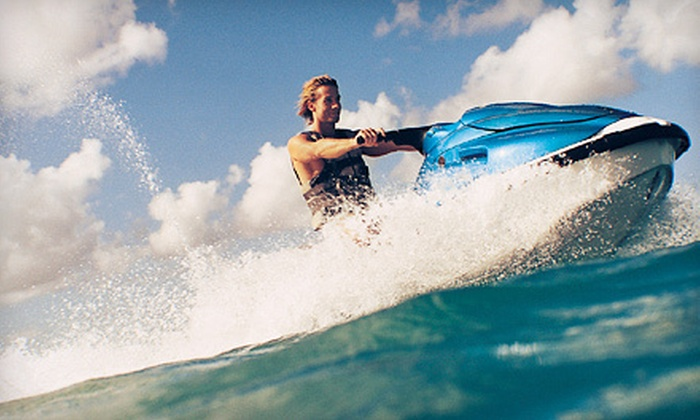 Life's A Beach Watersports - Lighthouse Cove Condo: $58 for a One-Hour Jet-Ski Rental at Life's A Beach Watersports ($110 Value)