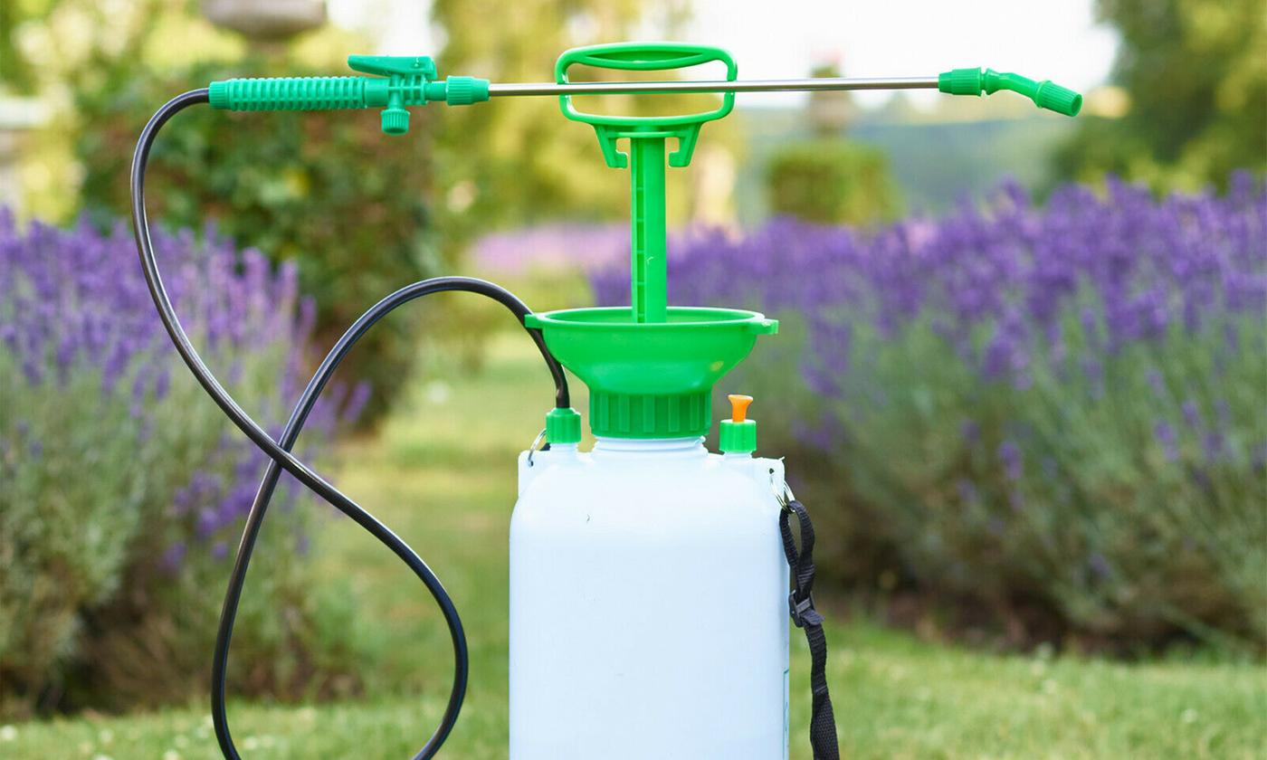 One or Two 10-Litre Pressure Sprayers