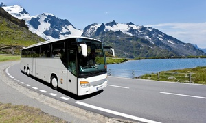 Charter Bus Express: Round-Trip Transit from Greater LA Area or San Diego to Las Vegas from Charter Bus Express (Up to 44% Off)