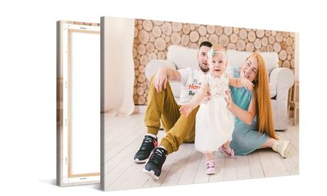 Fotolienzo clásico personalizable de varios tamaños desde 1 € con Photo Gift