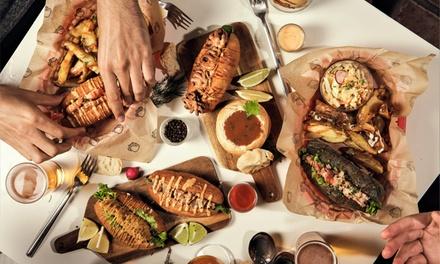 Menú para 1, 2 o 4 personas con bocadillo, patatas, ensalada y bebida desde 12,99 € en Bocavante