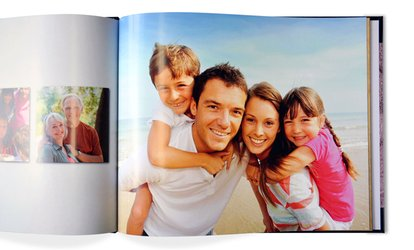 Personalized Photobook with Soft or Hard Cover by PhotobookShop (Up to 85% Off)