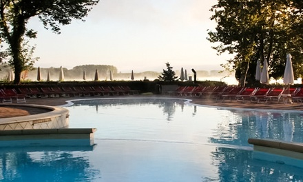 Ingressi piscina o carnet da 10 ingressi per adulti e bambini da Antharesworld, nel parco naturale del lago di Candia