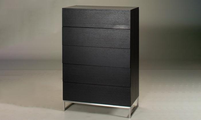 meuble de salon aemely groupon. Black Bedroom Furniture Sets. Home Design Ideas
