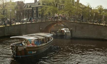 Amsterdam: rondvaart door de grachten met KINboat