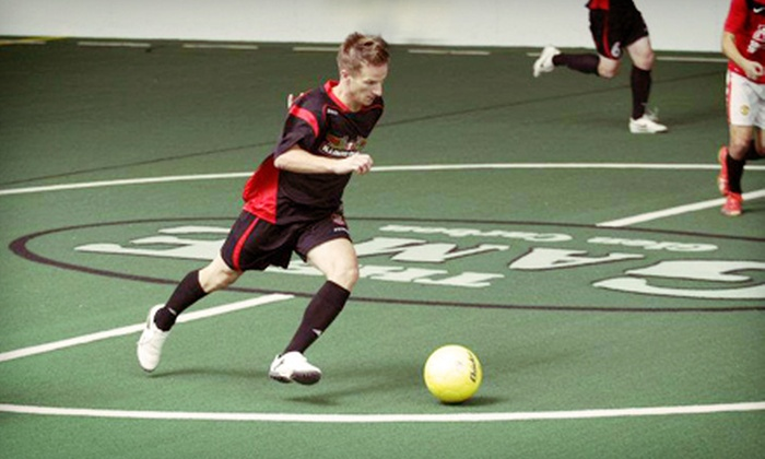 Illinois Piasa - Glen Carbon: $15 to See Three Illinois Piasa Indoor Soccer Games at The Sports Academy ($30 Value)