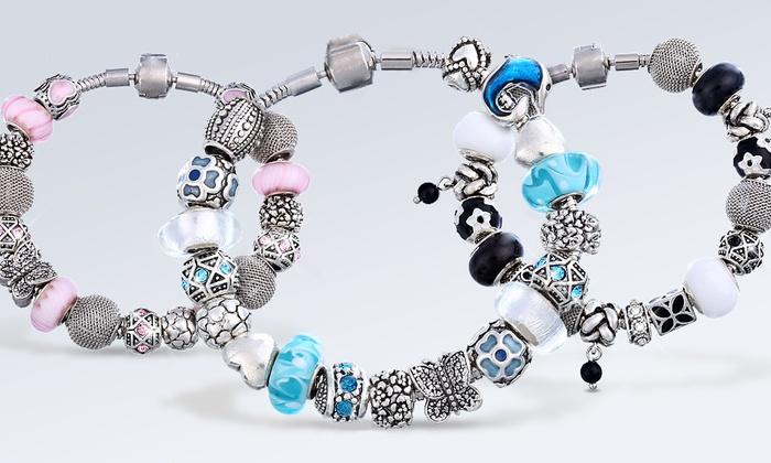 Bracelet Charms de la marque Mestig orn de cristaux Swarovksi® modèle au choix à 1999€ livraison offerte (75%)