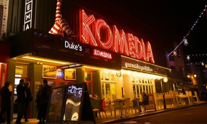 Komedia Brighton: Krater Comedy Club and Burger Meal, 25 September - 27 November at 8 p.m., Komedia Brighton (Up to 48% Off)