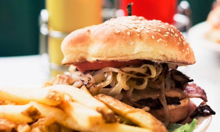 Tuck'd Away Bar & Grill - Crestwood: Pub Dinner at Tuck'd Away Bar & Grill (Up to 52% Off). Four Options Available.