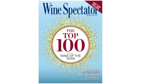Subscription to Wine Spectator Magazine (58% Off)