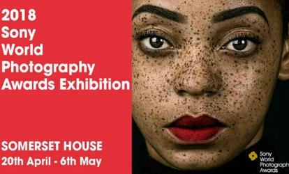image for 2018 Sony World Photography Awards Exhibition on 21 April - 4 May at Somerset House (Up to 35% Off*)