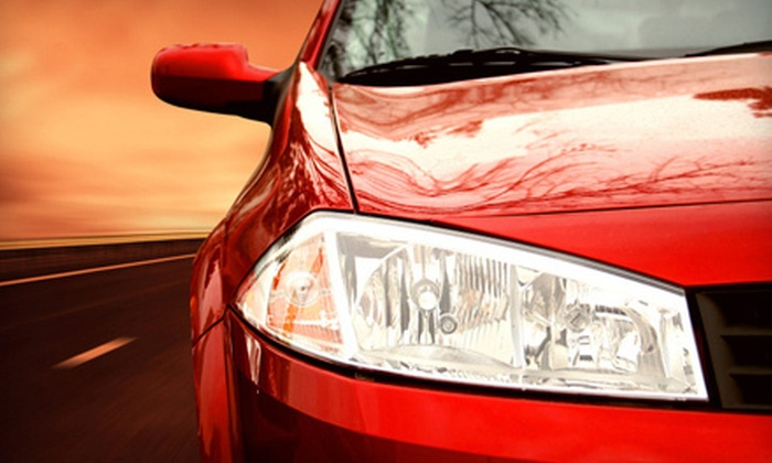 Extra Mile Auto Spa and Hand Car Wash and Detail Center - Black Mountain: Detailing for a Small or Large Vehicle at Extra Mile Auto Spa and Hand Car Wash and Detail Center (Up to 55% Off)