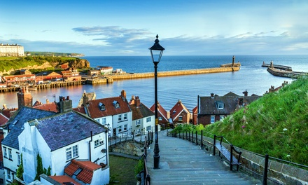Whitby, North Yorkshire: 1 or 2 Nights for Two with Breakfast and Wine or Dinner at The Resolution Hotel
