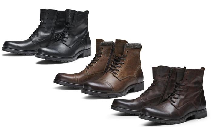 super popolare f5dac bad34 Fino a 29% su Stivali in pelle uomo Jack & Jones   Groupon