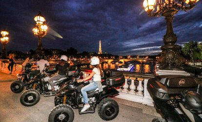 "image pour Balade d'1h en quad ""Paris By night"" en solo ou en duo dès 39,90 € avec Quad In The City"