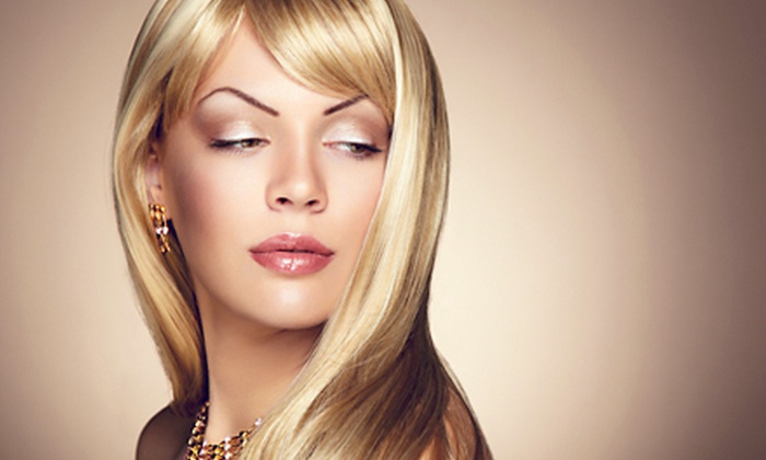 Acaj Salon - Maitland: Women's Haircut, Style, and Blow-Dry with Optional Partial or Full Highlights at Acaj Salon (Up to 62% Off)