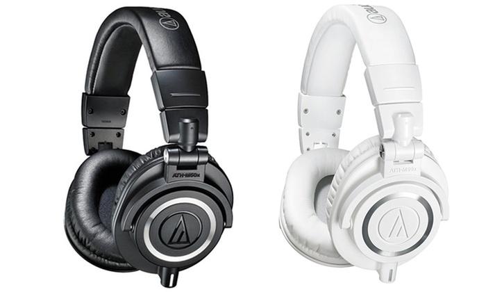 Audio-Technica ATH-M50x Professional Studio Monitor ...