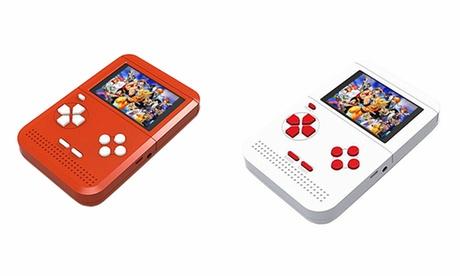 Console de jeu vidéo portable classique avec écran LCD de 2.5 ''