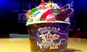 Brain Freeze: CC$12 for Four Groupons, Each Good for C$5 Worth of Frozen desserts at Brain Freeze (CC$20 Total Value)