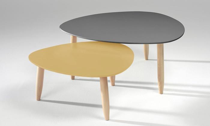 Lot 2 Shopping Tables Basses De GigognesGroupon 5jLcq4RS3A