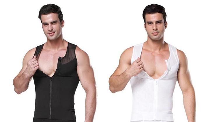 Men's Slimming Zip-Up Vest