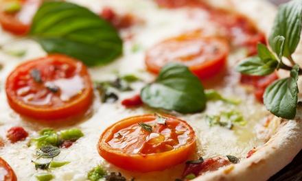 Menu pizza senza glutine con antipasto e birra (sconto fino a 67%)