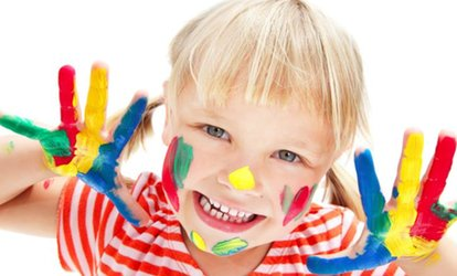 One Hour of Face-Painting <strong>Services</strong> from Aura Face Painting (45% Off)
