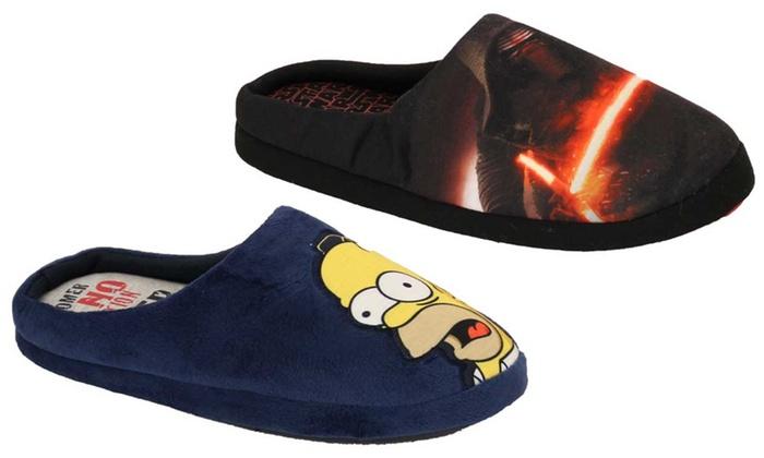 7e7a2295600e Men s Slip-On Star Wars Slippers ...