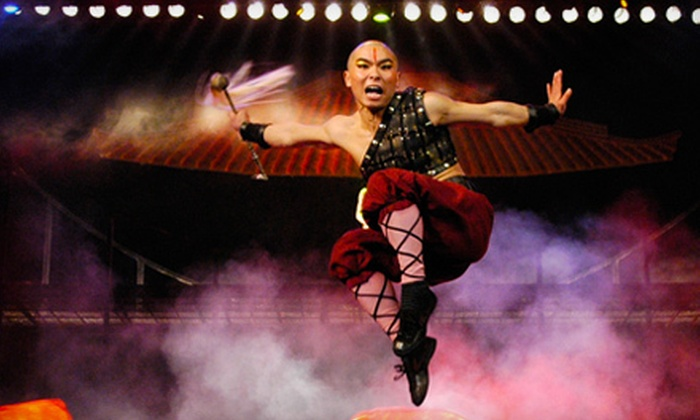 """The Legend of Kung Fu - Branson: """"The Legend of Kung Fu"""" Martial Arts Show for Two or Four at The White House Theatre in Branson (Up to 56% Off)"""