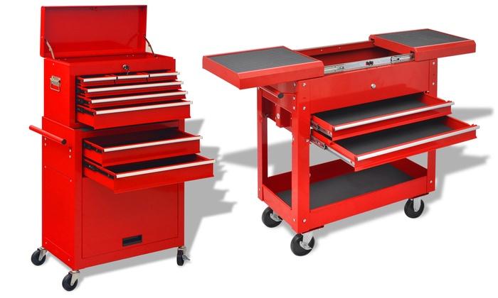 jusqu 39 49 chariot outils pour atelier groupon. Black Bedroom Furniture Sets. Home Design Ideas