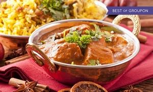 Ristorante Indiamatha: Menu indiano vegetariano con vino per 2 o 4 persone al Ristorante Indiamatha (sconto fino a 66%)