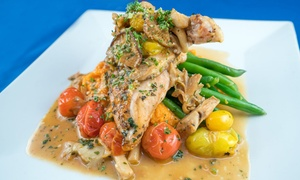 Ocean 60: Seafood and Continental Cuisine at Ocean 60 (Up to 40% Off). Two Options Available.
