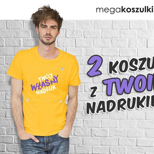 09d952d7f Koszulka z nadrukiem na Dzień Chłopaka - Megakoszulki.pl | Groupon