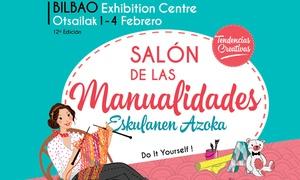 Bilbao Exhibition Centre: 2 o 4 entradas a ''Tendencias Creativas 2018'' del 1 al 4 de febrero desde 18 € en Bilbao Exhibition Centre