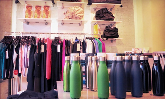 Vie Fitness & Spa - Downtown Ann Arbor: $20 for $40 Worth of Fitness Apparel and Salon Products at Vie Fitness & Spa