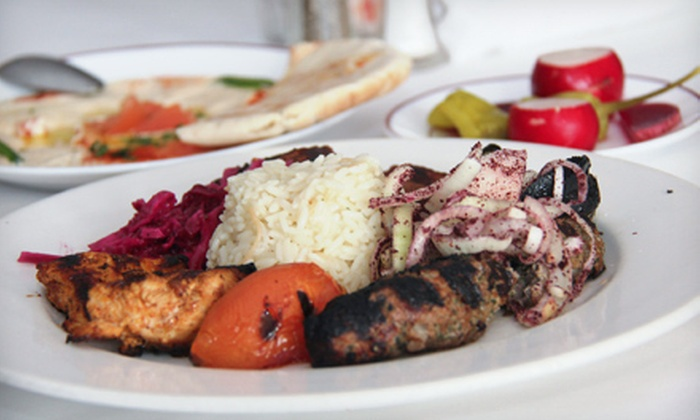 Maza Restaurant - DePaul: Four-Course Lebanese Dinner for Two or Four at Maza Restaurant (Up to 63% Off)