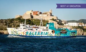 Buono sconto 50% - Balearia.com: Buono sconto del 50% su un biglietto open Ibiza - Formentera o Formentera - Ibiza, Balearia.com