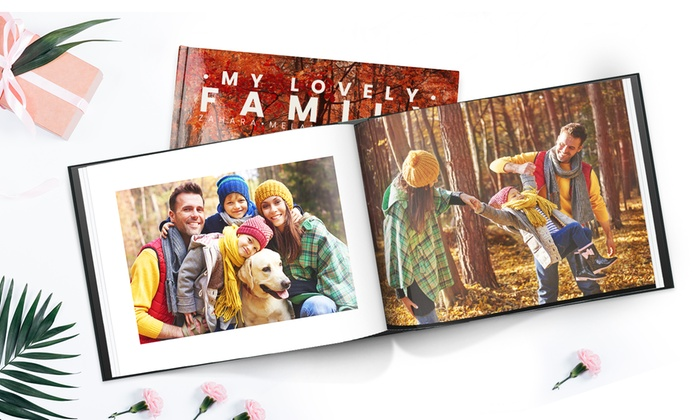 Up to Three A4 or A5 PersonalisedHardback Photobooks with Up to 100 Pages from Printerpix