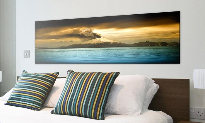 Pixquadro: Buoni sconto del 50% per stampe su tela in formato panoramico offerto da Pixquadro. Spedizione gratuita in 24 ore